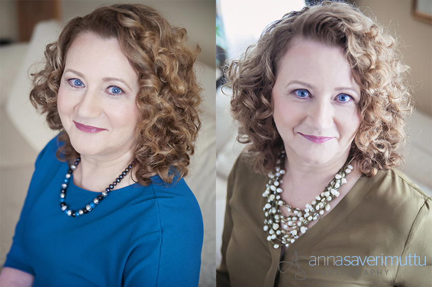 professional natural light headshots of businesswoman