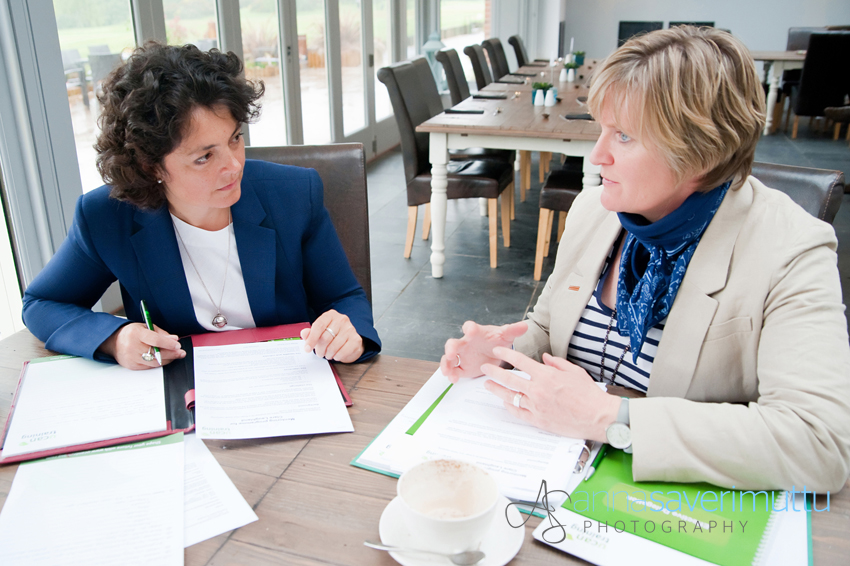 1-to-1 business coaching session with two businesswomen