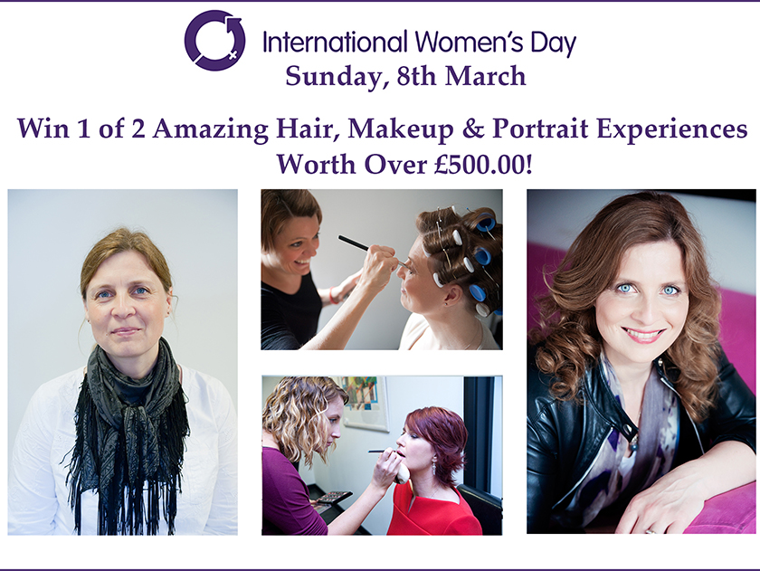 Win a Hair, Makeup & Portrait Experience to Celebrate International Women's Day