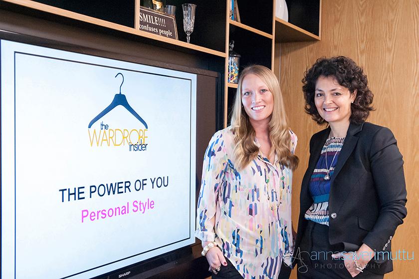 Stylist Katie Powell and Coach & Trainer, Sharon Jackson