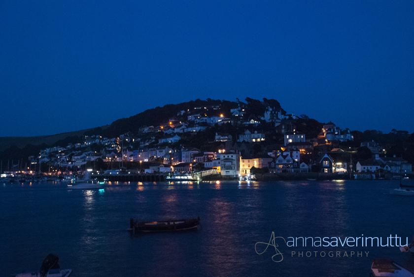 Kingswear, Devon at night